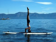 Stand up paddle boarding on Lake Tahoe    #Paddleboardshop #paddleboard #paddleboarding