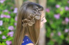 This style is so easy! #CGHRickRackBraid #cutegirlshairstyles #hairstyles #hairstyle #braid #braidhairstyles