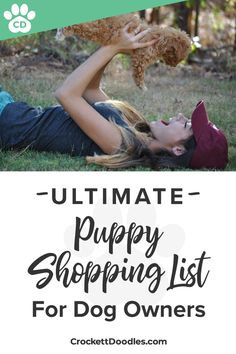 Puppy shopping list for new puppy owners—resources to make you the best dog owner ever!