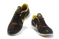 sports shoes c1784 a0a65 comprar barato Mujer Free 3.0 V2 Contra Piel Zapatos marron Amarillo en la  tienda online.