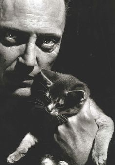 """Christopher Walken is a noted lover of cats. He once said, """"A tail is so expressive. On a cat you can tell if they're annoyed. You can tell whether they are scared. They bush their tail. If I was an actor and I had to play scared in a movie all I'd have to do is bush my tail. I think that if actors had tails it would change everything."""""""