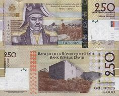 Haiti 250 Gourdes 2014