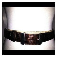 Italian alligator leather belt Italian alligator leather belt Accessories Belts