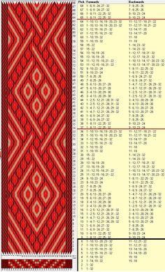 32 tarjetas, 3 colores,repite cada 28 movimientos // sed_883 diseñado en GTT༺❁