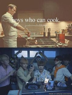 "And boy who can ""REALLY COOK """