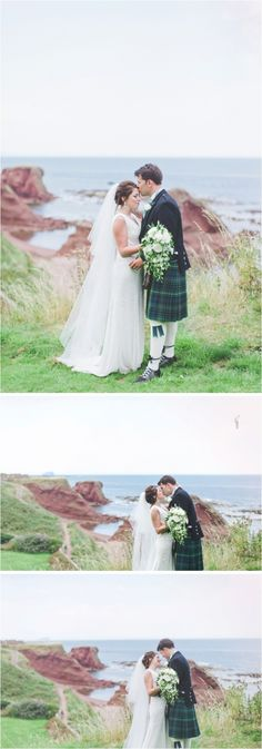 Chantal Lachance-Gibson Photography / wedding broxmouth park / romantic & natural wedding photographers scotland / destination wedding photographers / seaside wedding photos