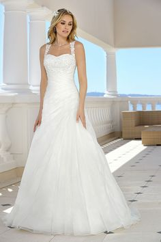 Explore the extensive collection of wedding dresses by Ladybird Bridal online. Affordable, stylish wedding dresses with the perfect fit for any figure. Perfect Wedding Dress, Dream Wedding Dresses, Designer Wedding Dresses, Bridal Dresses, Wedding Gowns, Bridesmaid Dresses, Prom Dresses, Bridal Collection, Dress Collection