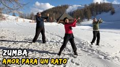 Challenge Dancing in the snow! ZUMBA #17 Amor para un Rato Olvídate! dans la neige en montagne - from #rosalys at www.rosalys.net - work licensed under Creative Commons Attribution-Noncommercial