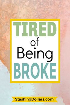 Tired of the stress of being broke? These 8 poor money habits could be the reason the money runs out before the end of the week. Debt Repayment, Debt Payoff, Debt Consolidation, Ways To Save Money, Money Tips, How To Make Money, Financial Goals, Financial Planning, Being Broke