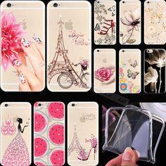 Cristal padrão de diamante brilhante Vivid escudo do telefone de silício capa para Apple iPhone 4 iPhone 4S iPhone4 iPhone4S casos de caso TR ER WY