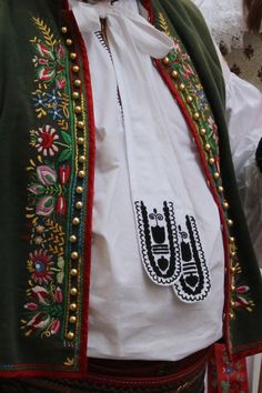 Folk Costume, Costumes, Goodbye Gifts, Folk Clothing, Beautiful Patterns, Hana, German, Bomber Jacket, Bohemian