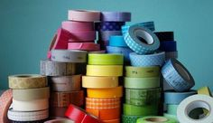 Decorare casa con i nastri washi tape