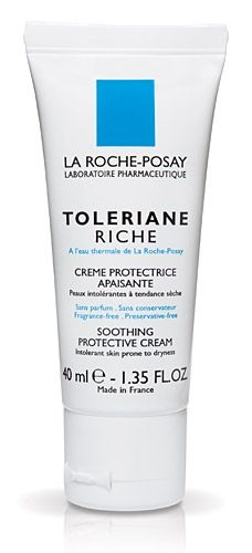 La Roche- Posay Toleraine Riche - a good cream which hydrates and soothes skin, the result is a smooth hydrated face which appears fresh and healthy. I got this particular one for my dry and intolerant skin. After use if feels rejuvenated and more radiant