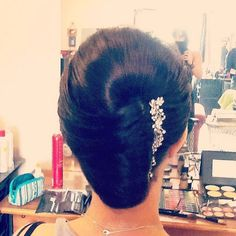 Love me some French twists! #loveforhair #updos #promhair #weddinghair