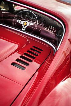 1971 Ferrari Dino 246 GT Taillight Emblem - Prints for sale