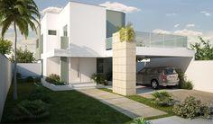 Resultado de imagem para plantas arquitetura de casas de dos pisos