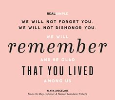 from Real Simple Daily Thoughts Simple Quotes, Great Quotes, Quotes To Live By, Me Quotes, Inspirational Quotes, Daily Thoughts, Words Worth, Maya Angelou, Real Simple