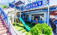 Looking for a child friendly restaurant in Simon's Town? Take you family on an outing to Bertha's Restaurant for good food, wine and beautiful scenery. Burger Night, Party Venues, Beautiful Scenery, Cape Town, Mom And Dad, Child Friendly, Restaurant, Monday Night, City