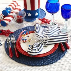 For Fourth of July birthdays, celebrate the patriotic way with help from @Pier 1.