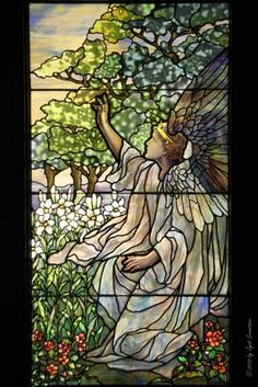 Chicago - Architecture & Cityscape: Tiffany Studio and Stained Glass Windows [Smith Museum of Stained Glass]
