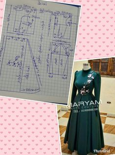 A-Line V-Neck Champagne Tulle Prom Dress with Beading Appliques Abaya Pattern, Pants Pattern, Hijab Style Dress, Muslim Dress, Pola Rok, Couture Sewing, Abaya Fashion, Pattern Drafting, Dress Sewing Patterns