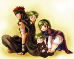 Fire Emblem Blazing Sword / Sword of Seals - Nino x Jaffar, Lugh and Raigh