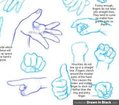 #hand #reference uchuucacahuate - How to Draw Hands