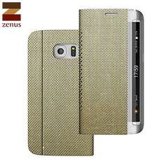 Zenus Metallic Diary Samsung Galaxy S6 Edge Case - Light Gold