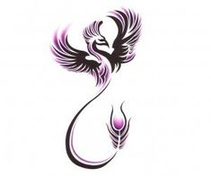 Flying phoenix tattoo. Love the idea of a Phoenix and what they symbolize.