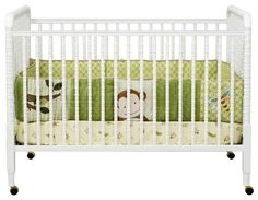 DaVinci Jenny Lind Stationary Convertible Mobile Wood Crib in White - farmhouse - Cribs - Other Metro - Cymax Jenny Lind Crib, Traditional Cribs, Wood Crib, Best Crib, Charlotte, Baby Co, Baby Baby, Nursery Inspiration, Nursery Ideas