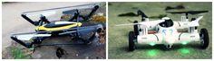 Queridos Reyes Magos (1): Tanques y coches R/C que además, son drones y vuelan | De 0 a 100 - Yahoo Noticias