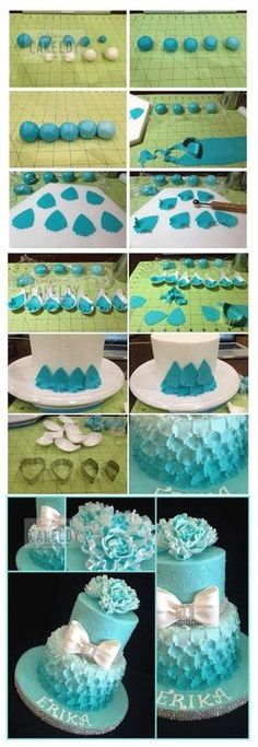 Search cake decoration diy images  http://ooovor.com/cake-decorating