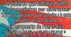 Mañana, marcha en contra de la privatización de nuestro aeropuerto, desde la plaza Colón hasta Fortaleza. 1pm.    ¡RIEGA LA VOZ!
