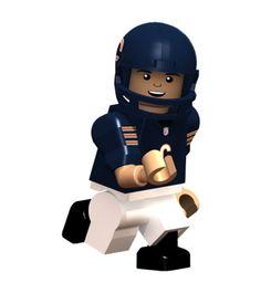 Chicago Bears NFL OYO Minifigure Jay Cutler