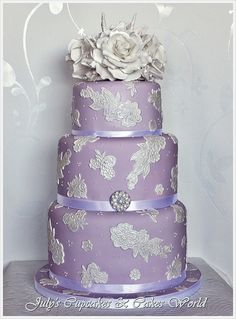 Lavender and Silver....my favorite combination