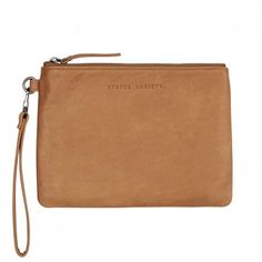 STATUS ANXIETY Fixation Wallet Clutch Tan