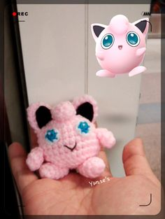 Free crochet pattern : Jigglypuff (Pokémon)