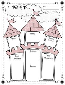 Simply SWEET TEAching: Fairy Tale vs. Fractured Fairy Tale Unit & FREEBIE