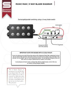 PBass wiring diagram DIY in 2019 Fender p bass