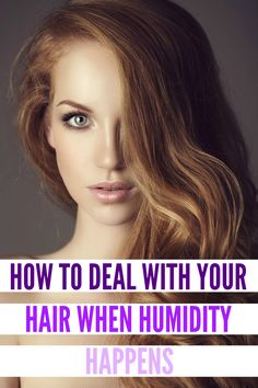 This is the secret trick to controlling frizz and keeping your hair from poufing up.