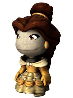 Belle as a little big planet character