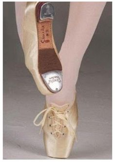 Pointe/tap shoes! You have to be so skilled to pull off these