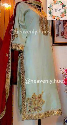 Bridal Suits Punjabi, Punjabi Suits Party Wear, Salwar Suit Neck Designs, Kurta Designs Women, Punjabi Suits Designer Boutique, Indian Designer Suits, Embroidery Suits Punjabi, Embroidery Suits Design, Designer Party Wear Dresses