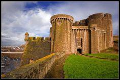 Le chateau de Brest, bretagne