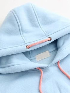 SheIn offers Blue Letter Print Patch Hooded Sweatshirt & more to fit your fashionable needs. Hooded Sweatshirts, Hoodies, Cool Outfits, Fashion Outfits, Fashion Details, Fashion Design, Sport Chic, Baby Kind, Sport Fashion
