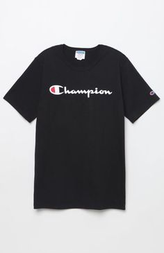 8530d8563 Champion Patriotic Script T-Shirt