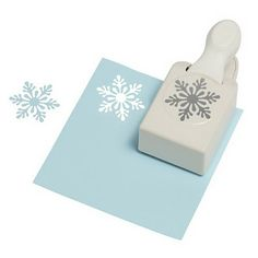 large paper snowflakes | Martha Stewart Crafts - Christmas - Craft Punch - Large - Scandinavian ...