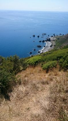 Kapiti Island, looking west