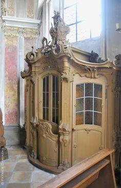 Sculpture Ornementale PATRICK DAMIAENS: 'ornements du style rocaille et Rococo'