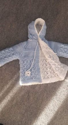 Baby Knitting Patterns, Knit Vest, Baby Cardigan, Baby Coat, Little Girl Dresses, Baby Dress, Doll Clothes, Baby Kids, Baby Outfits